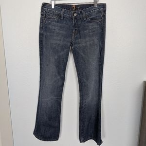 7 for all Mankind Flare Jeans 28